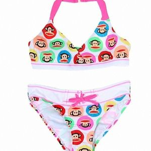 PAUL FRANK 2T TODDLER GIRLS BIKINI SWIMSUIT NWT